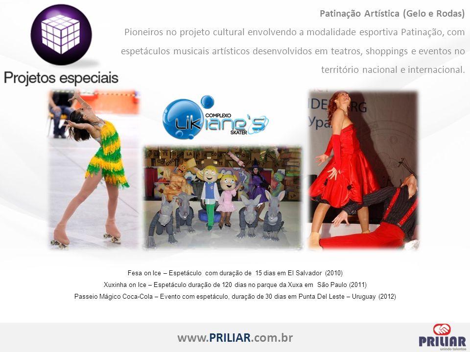 www.PRILIAR.com.br Feiras Corporativas A Priliar – Unindo Talentos trabalha para seu cliente marcar presença e fortalecer a sua marca com o objetivo de aumentar seu faturamento.