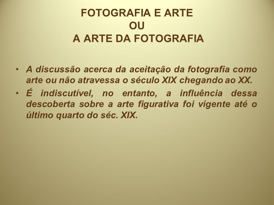 Entendendo melhor o papel da fotografia na Arte.