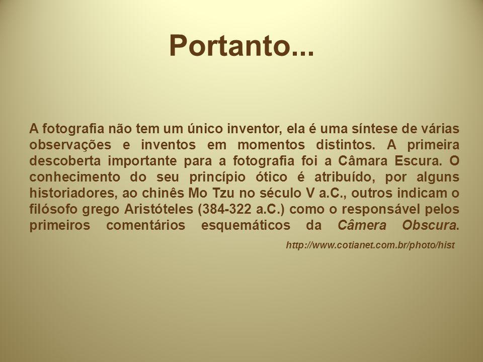 Categorias: Fotografia retrato; Fotojornalismo; Fotografia Publicitária; Fotografia Científica; Amadorismo em Fotografia