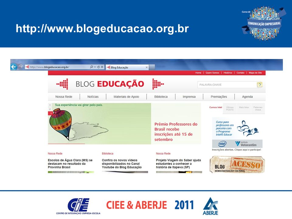 http://www.blogeducacao.org.br r