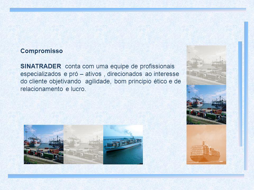 Compromisso SINATRADER conta com uma equipe de profissionais especializados e pró – ativos, direcionados ao interesse do cliente objetivando agilidade, bom principio ético e de relacionamento e lucro.