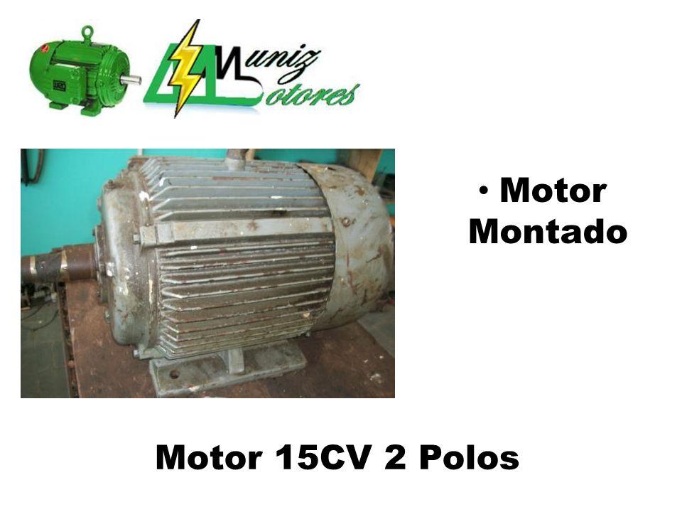 Motor Evaporizador 2 Enrolamentos/2 Velocidades 4 Polos 3/4CV Motor Montado
