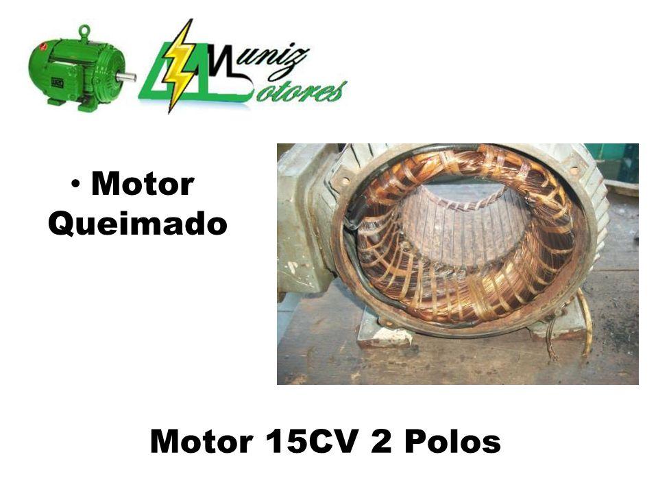 Motor Rebobinado Substituição de Rolamento e Lubrificação