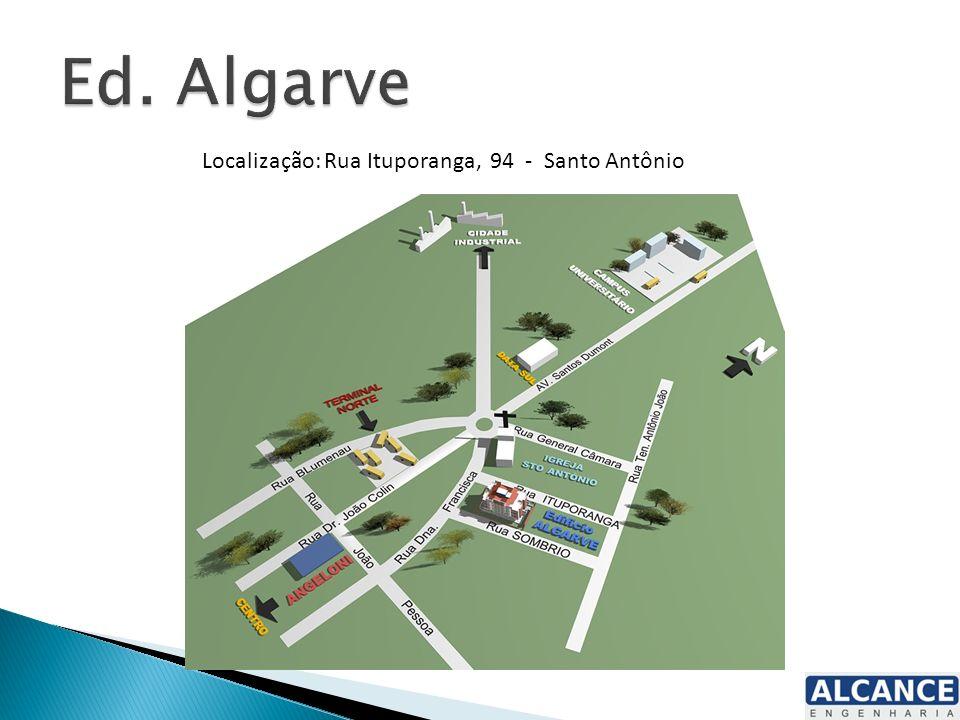Localização: Rua Ituporanga, 94 - Santo Antônio