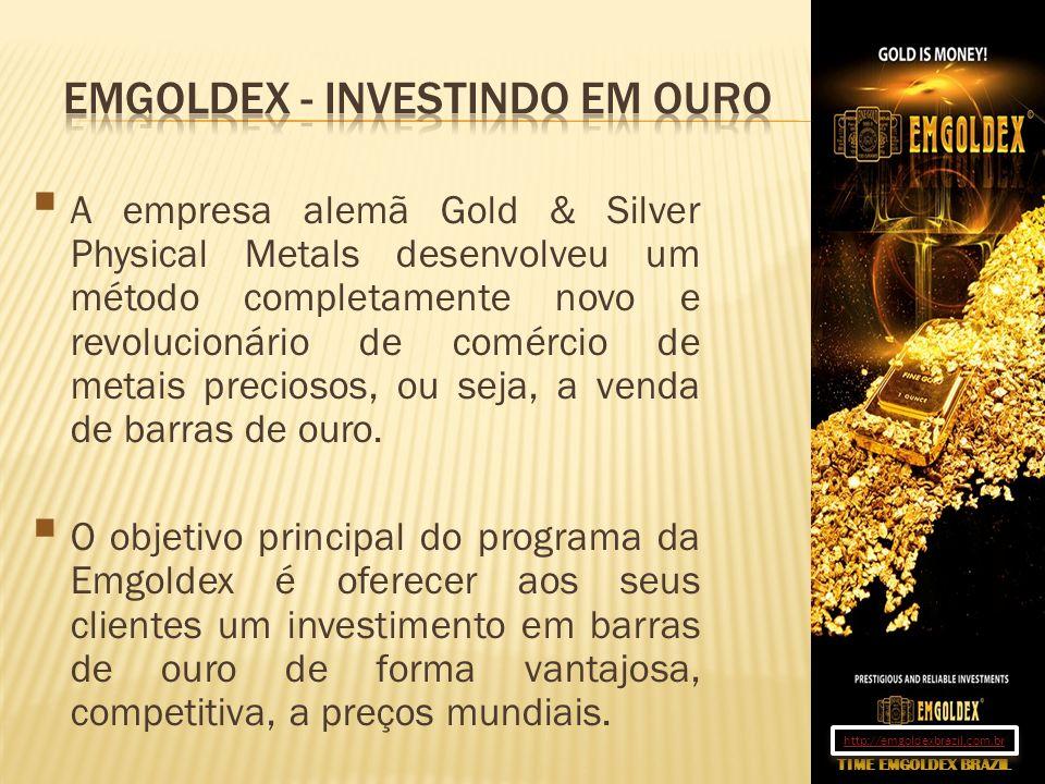 A empresa alemã Gold & Silver Physical Metals desenvolveu um método completamente novo e revolucionário de comércio de metais preciosos, ou seja, a ve