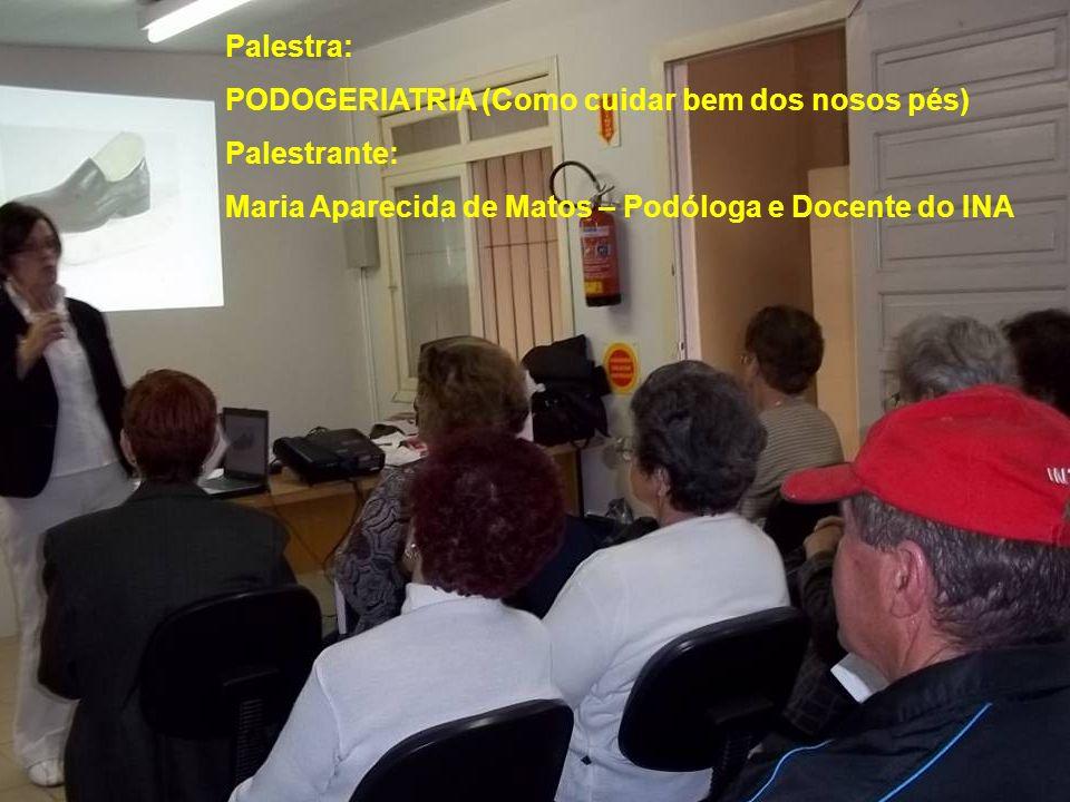 2ª Palestra com Dinâmica (Para Casais): CVV – Centro de Valorização da Vida Palestrante: Zita Darugna