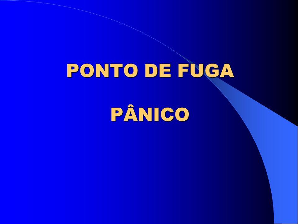 PONTO DE FUGA PÂNICO