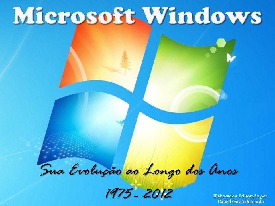 Bill Gates e Paul Allen fundaram a Microsoft em 1975.