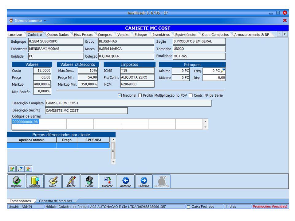 Cadastro de fornecedor Cadastro de fornecedores totalmente versátil Acompanhar devoluções Acompanha cotações