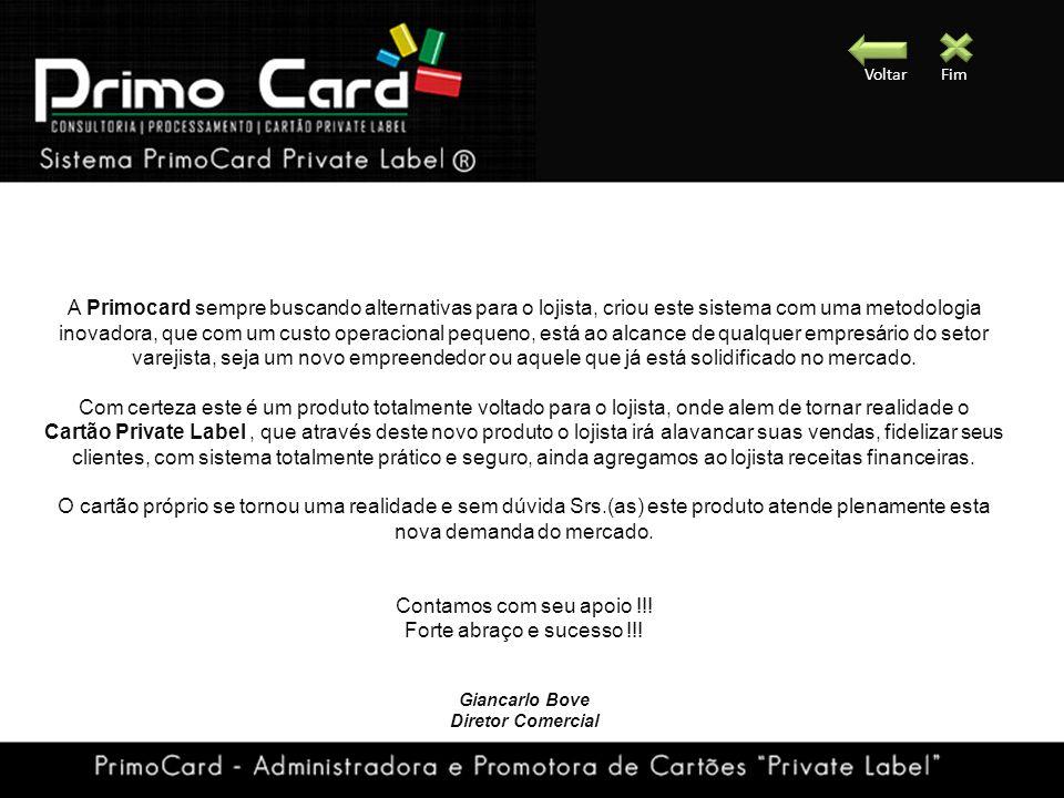 A Primocard sempre buscando alternativas para o lojista, criou este sistema com uma metodologia inovadora, que com um custo operacional pequeno, está