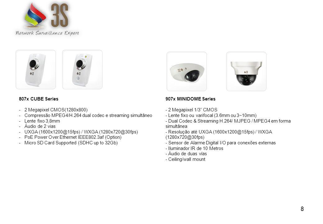 Sistemas de monitoramento 19 -Todas as câmeras 3S são absolutamente compatíveis com o standard ONVIF.