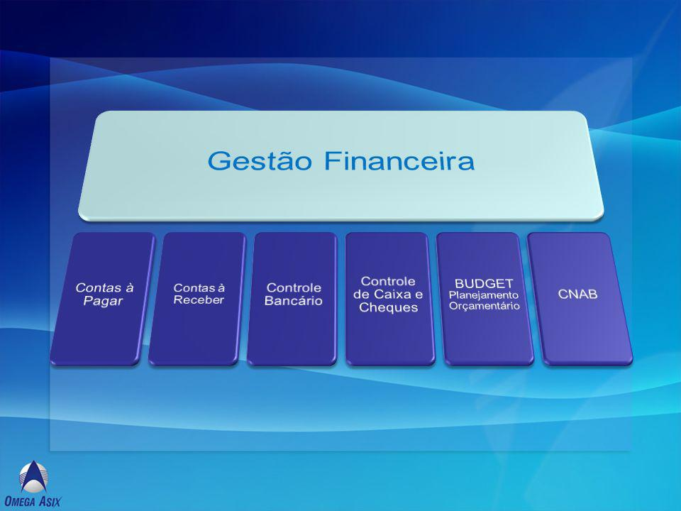 Contempla o ciclo de registro, processamento e pagamento / recebimento de devedores e credores, permitindo um gerenciamento eficaz dos compromissos financeiros.