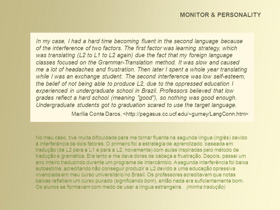 Gostaria de começar a dar aula de inglês; faço há 10 anos na escola *****, estou no último livro.