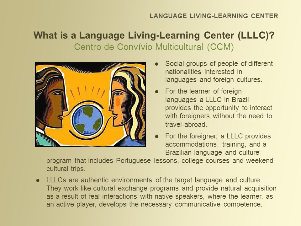LLLCs are successful because the members are naturally curious about the foreign culture and attracted to the complementing differences - and this results in productive cross-cultural relationships.