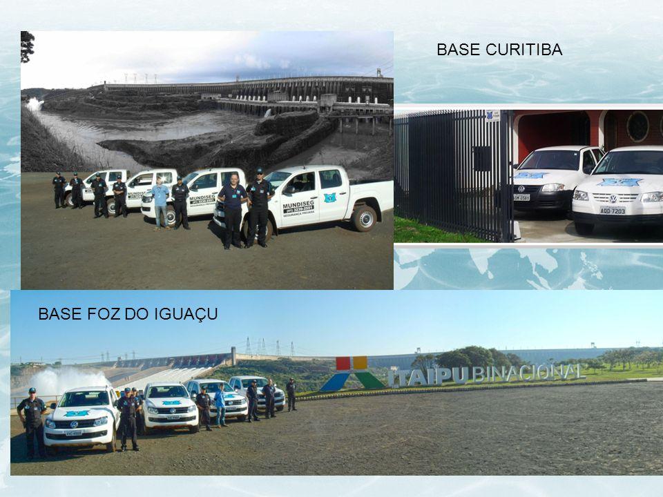 BASE CURITIBA BASE FOZ DO IGUAÇU