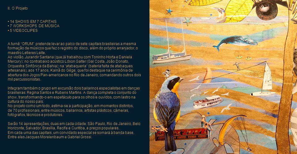 TURNÊ DE LANÇAMENTO DO DISCO ORUM I. O Conceito ORUM é o nome do novo álbum da cantora e compositora Giana Viscardi. É uma colaboração da artista com