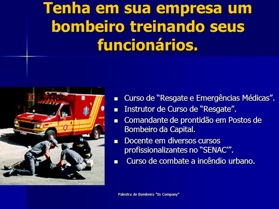Curso de Resgate e Emergências Médicas. Curso de Resgate e Emergências Médicas. Instrutor de Curso de Resgate. Instrutor de Curso de Resgate. Comandan