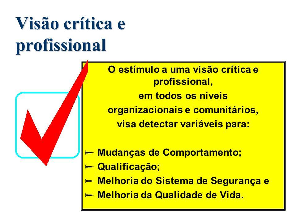 Internalizar a filosofia de trabalho; Aprimorar o conhecimento técnico-profissional Qualificar o profissional no seu ofício diário para atender as dem