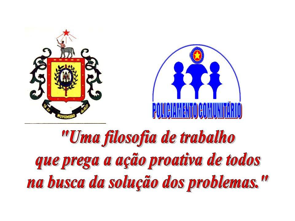 FILOSOFIA DA POLÍCIA COMUNITÁRIA Uma idéia que transcende a sua origem Autor: Jorge Bengochea