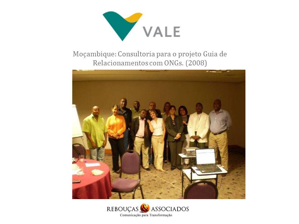 Refinaria Abreu e Lima - 2009 Numa segunda ação com a Refinaria em 2011 a R&A desenvolveu trabalho de identificação de ONGs da região afetada pela Refinaria para desenvolvimento de projeto social.