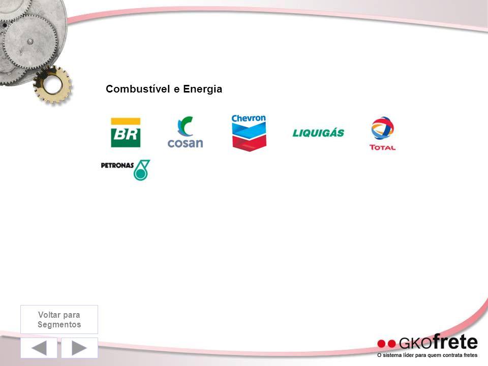 Combustível e Energia Voltar para Segmentos
