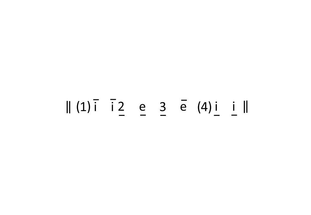 1 2 34 ()e i | | e ()i ii | |