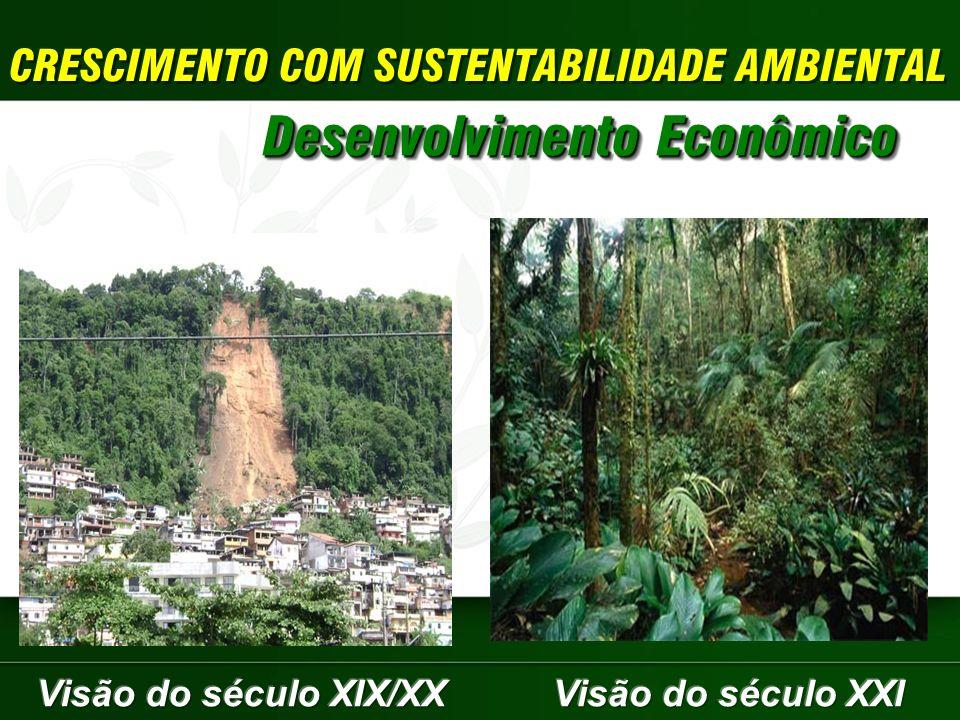 CRESCIMENTO COM SUSTENTABILIDADE AMBIENTAL Desenvolvimento Econômico