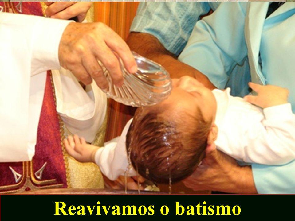 Reavivamos o batismo