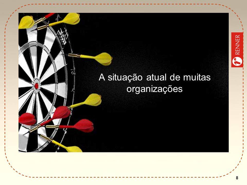 8 A situação atual de muitas organizações