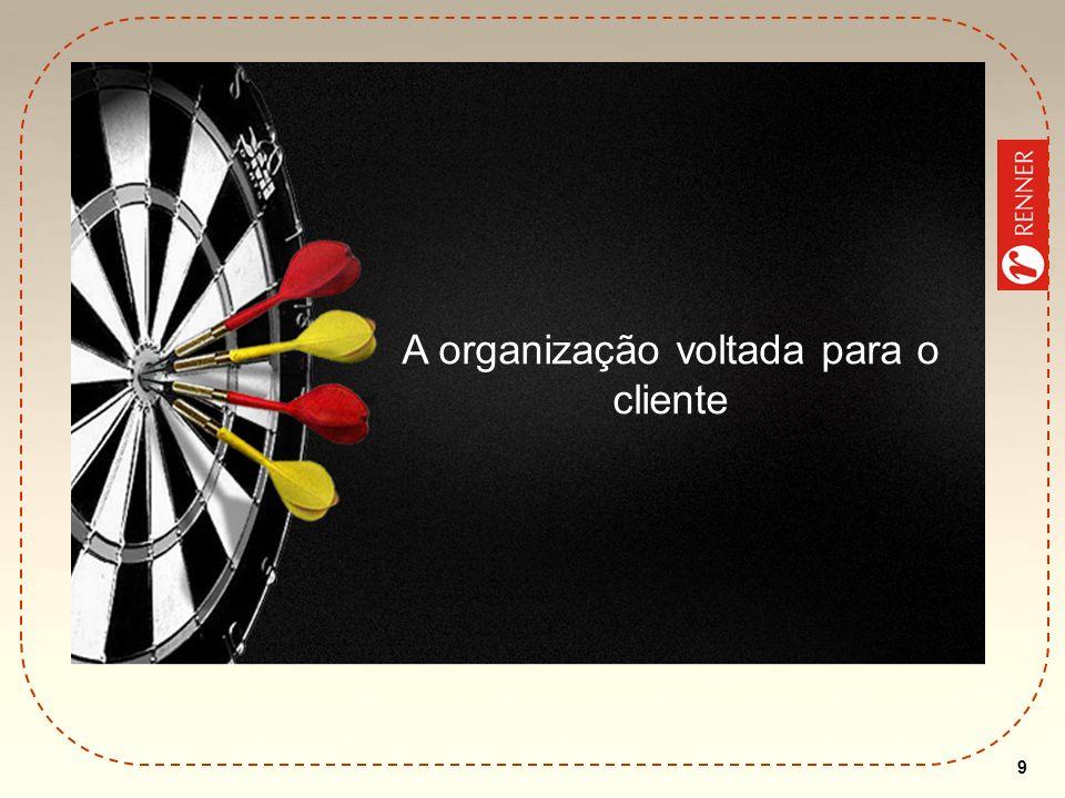 9 A organização voltada para o cliente