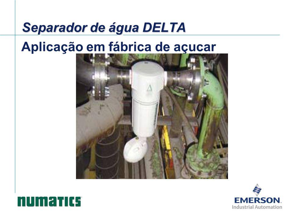 Aplicação em fábrica de açucar Separador de água DELTA