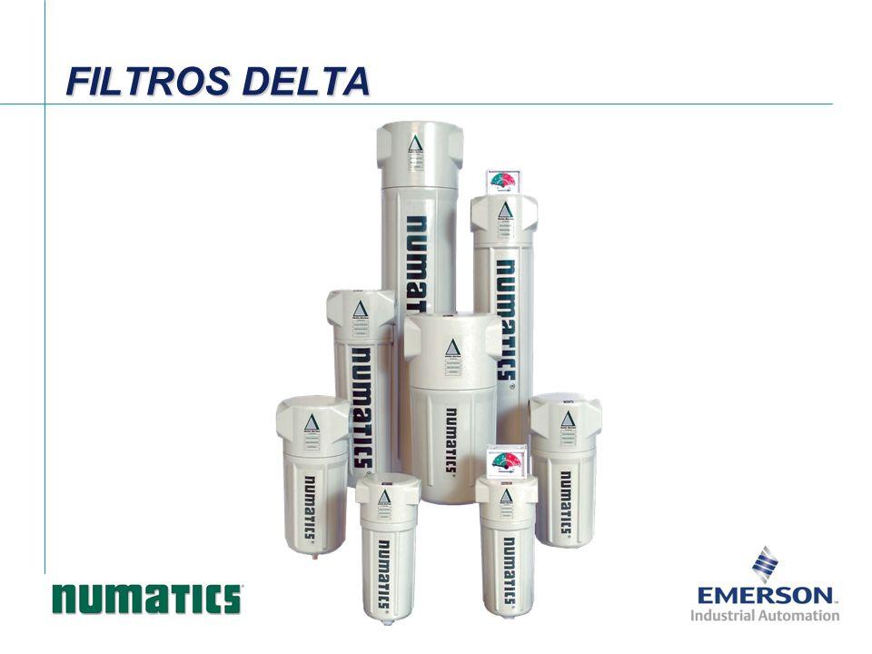 Dreno manual Filtro série DELTA Dreno automático