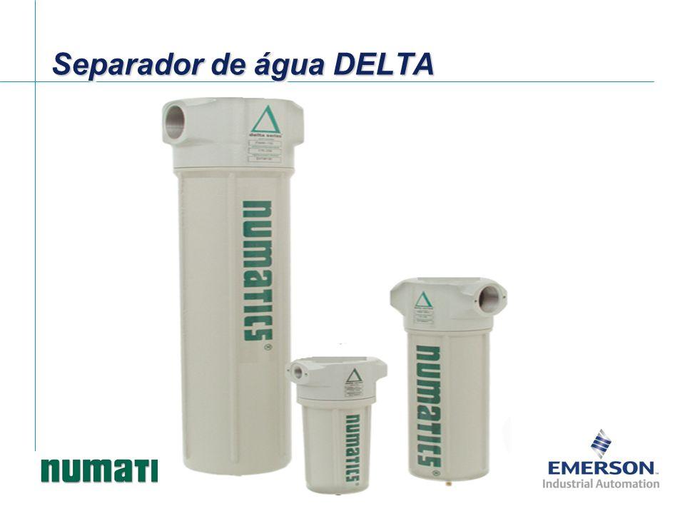 Dados de vazão – Filtro de adsorção (100psi – ΔP 1,5psi) Filtro série DELTA
