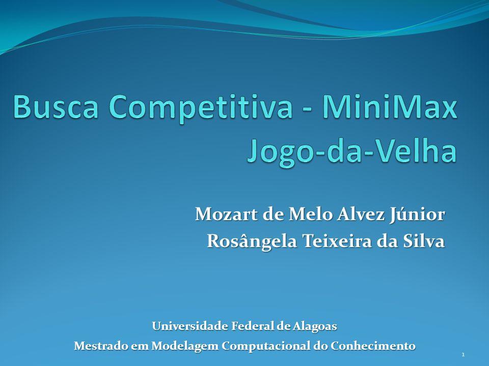 Mozart de Melo Alvez Júnior Rosângela Teixeira da Silva Universidade Federal de Alagoas Mestrado em Modelagem Computacional do Conhecimento 1