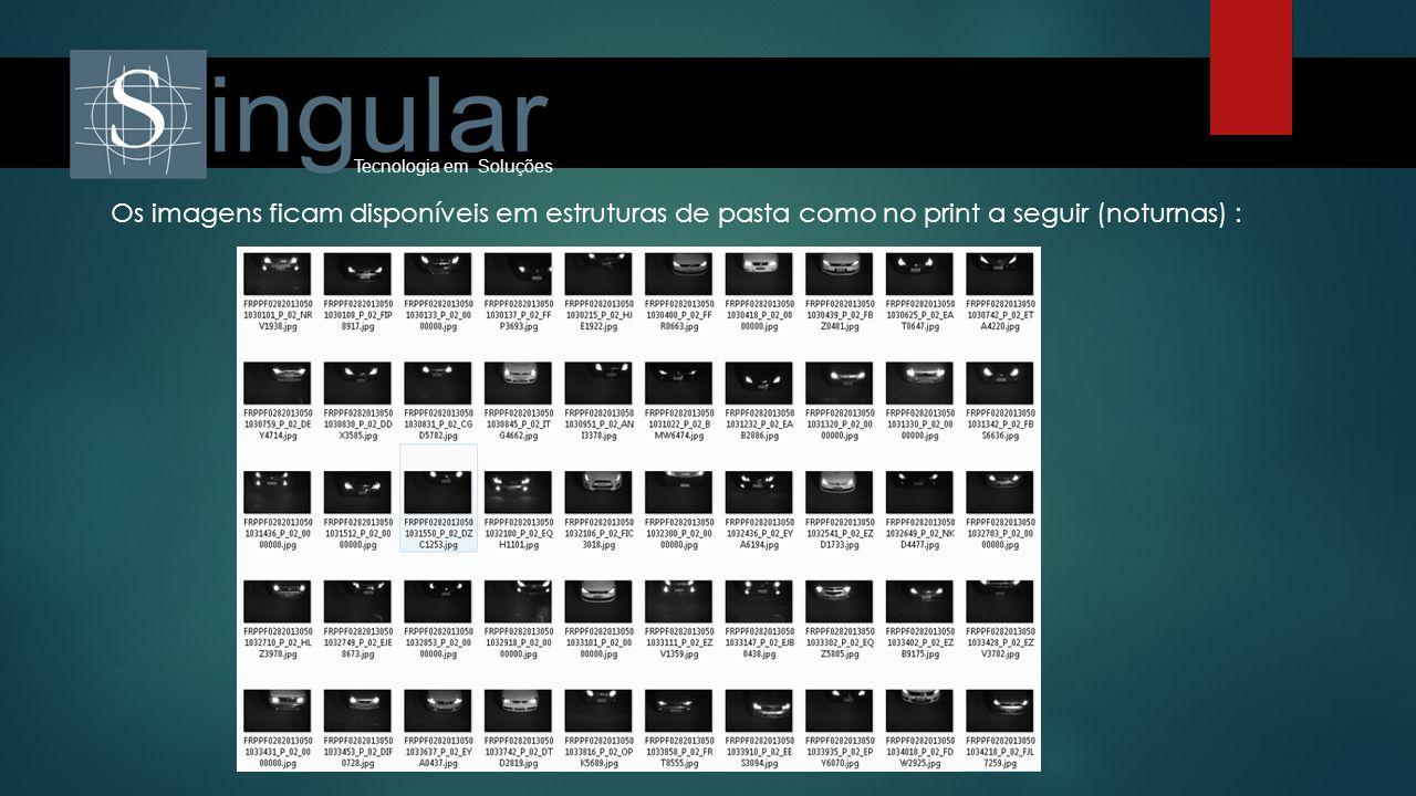 Tecnologia em Soluções Os imagens ficam disponíveis em estruturas de pasta como no print a seguir (noturnas) :