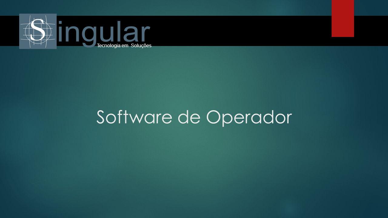 Software de Operador Tecnologia em Soluções