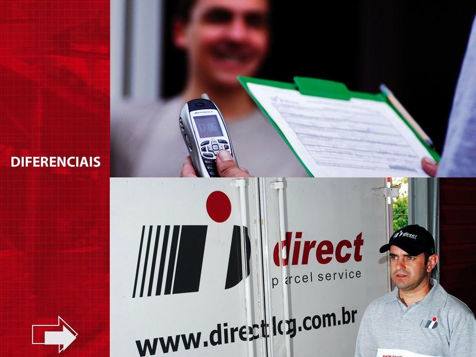 www.directlog.com.br Plataforma WEB Tracking on line Relatórios Gestão Interatividade na Solução Ocorrências INFORMAÇÃO