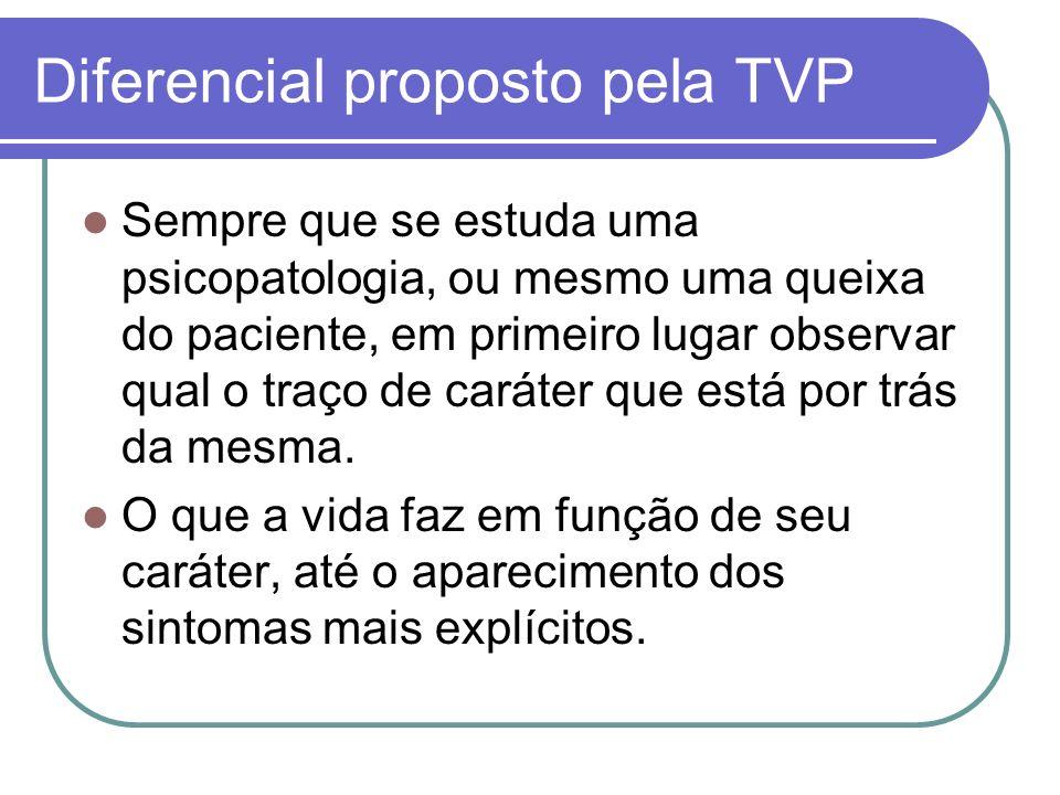 PSICOPATOLOGIAS TRAÇO DE CARÁTER PRÉ-MÓRBIDO