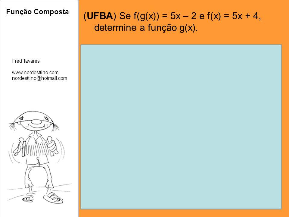 Fred Tavares www.nordesttino.com nordesttino@hotmail.com Expressões (FUVEST) Qual o valor da expressão a³-3a²x²y², para a=10, x=3 e y=1.
