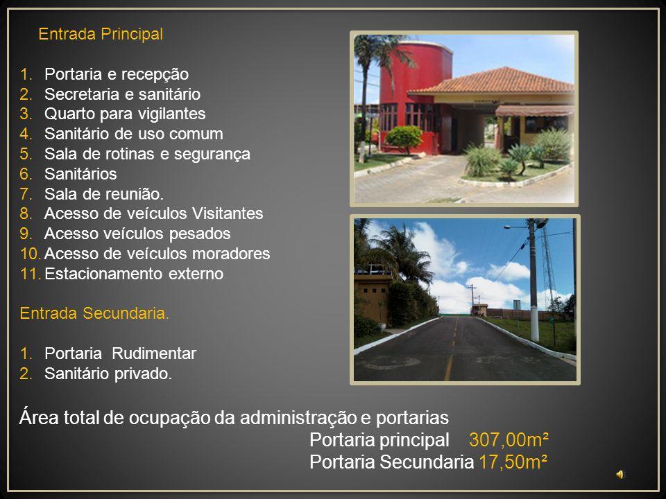 Proposta de Projeto de Arquitetura da Administração e Portarias para o condomínio Ouro Vermelho I Acesso às nossas casas Nova