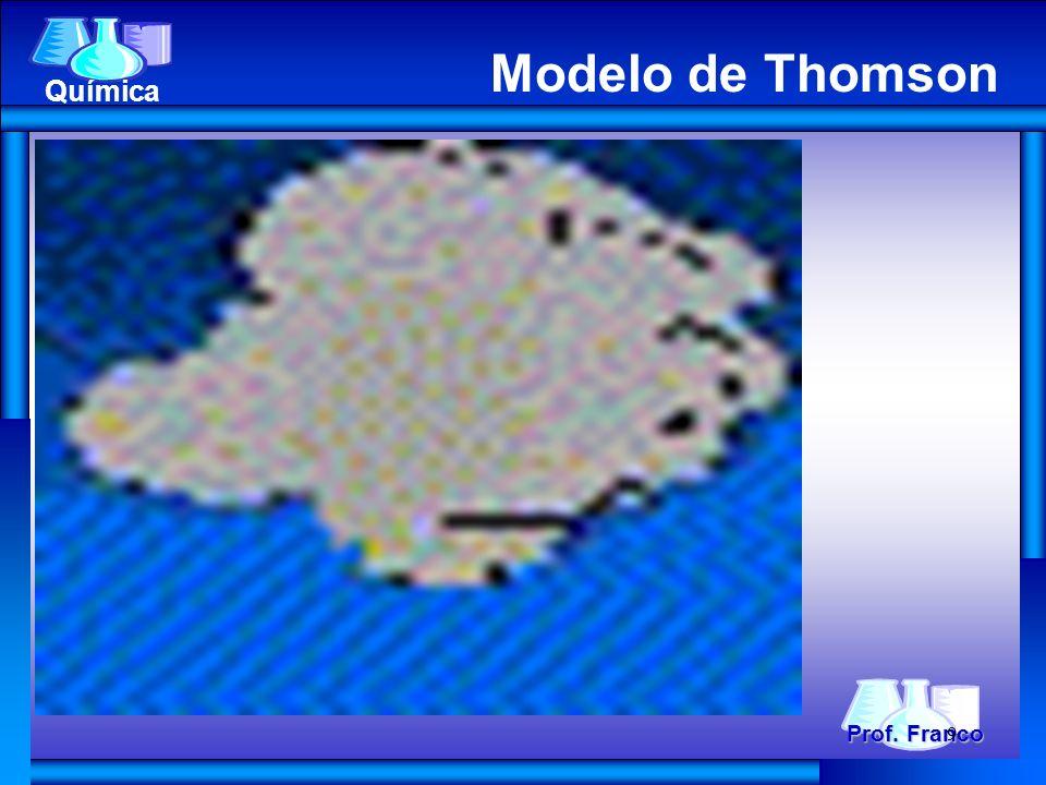Prof. Franco Química Modelo de Thomson 9