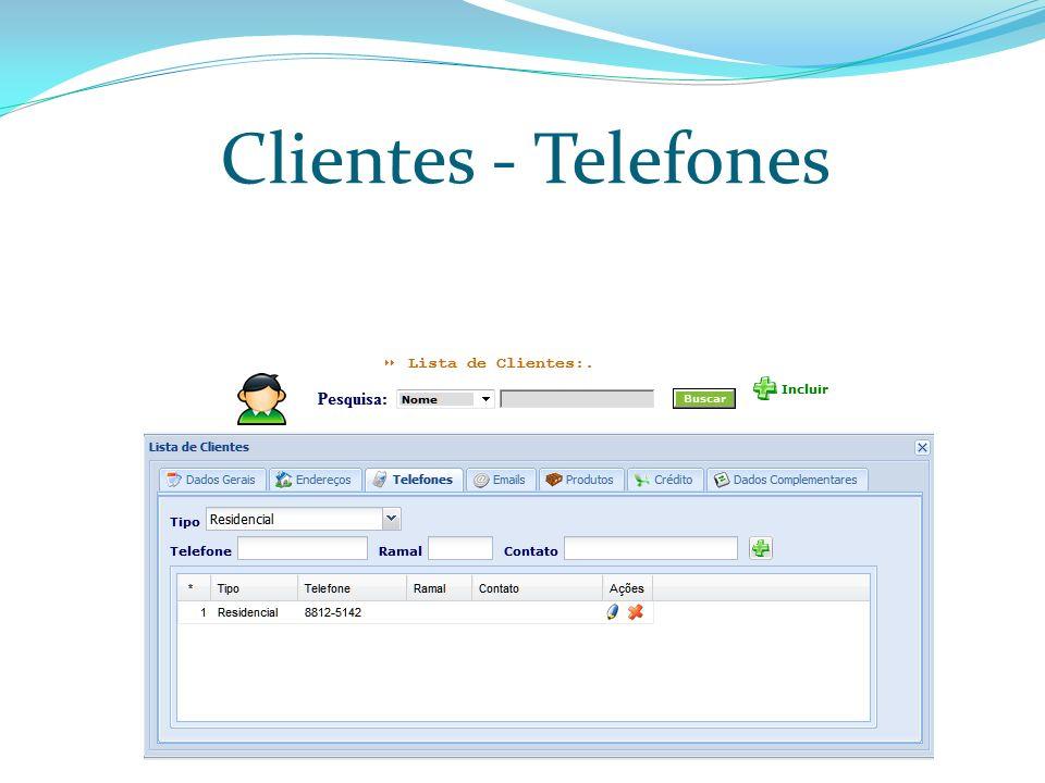 Clientes – Emails