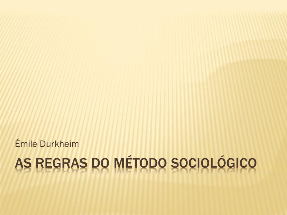 Há possibilidade de conciliar a concepção de fato social positivista de Durkheim com o fato social numa perspectiva sartriana, ou seja, material-existencialista.