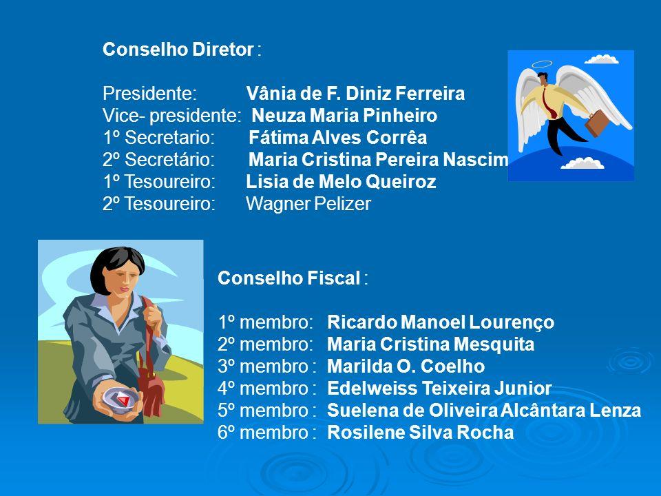 Conselho Diretor : Presidente: Vânia de F.