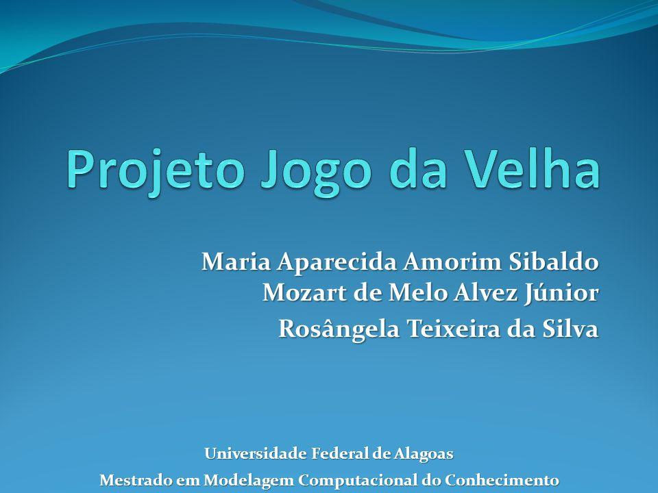 Maria Aparecida Amorim Sibaldo Mozart de Melo Alvez Júnior Rosângela Teixeira da Silva Universidade Federal de Alagoas Mestrado em Modelagem Computacional do Conhecimento