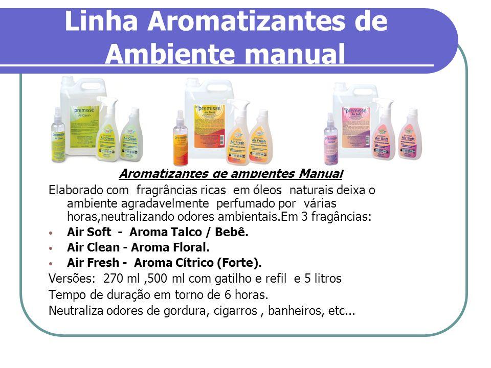 Linha Aromatizantes de Ambiente manual Aromatizantes de ambientes Manual Elaborado com fragrâncias ricas em óleos naturais deixa o ambiente agradavelm
