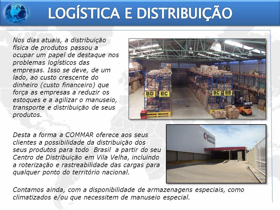 Nos dias atuais, a distribuição física de produtos passou a ocupar um papel de destaque nos problemas logísticos das empresas. Isso se deve, de um lad