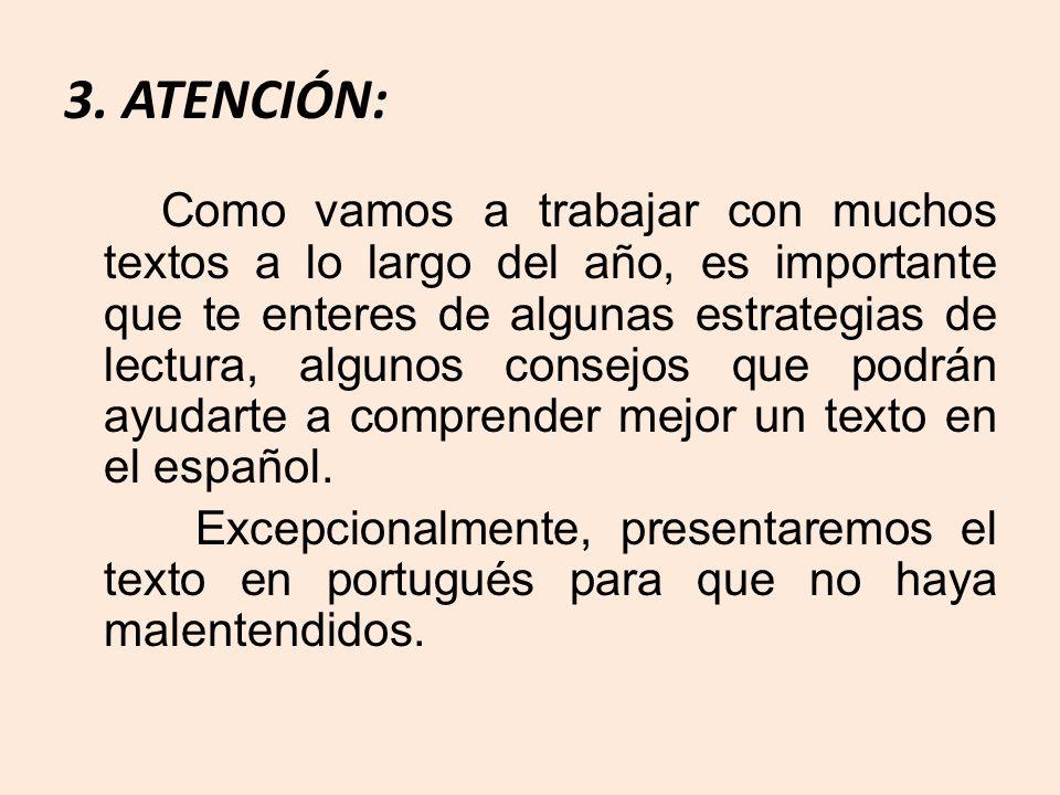 4.Interferência Léxica: # Contextualização = deduzir significado usando pistas contextuais.