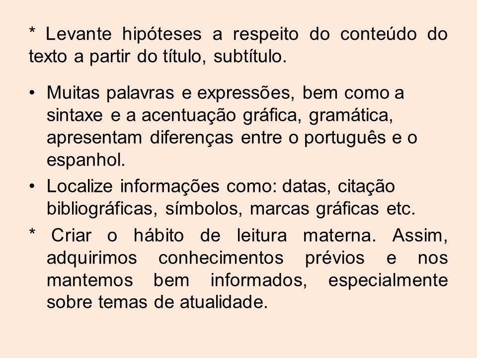 # Sites para treinar: endereços para praticar o espanhol.