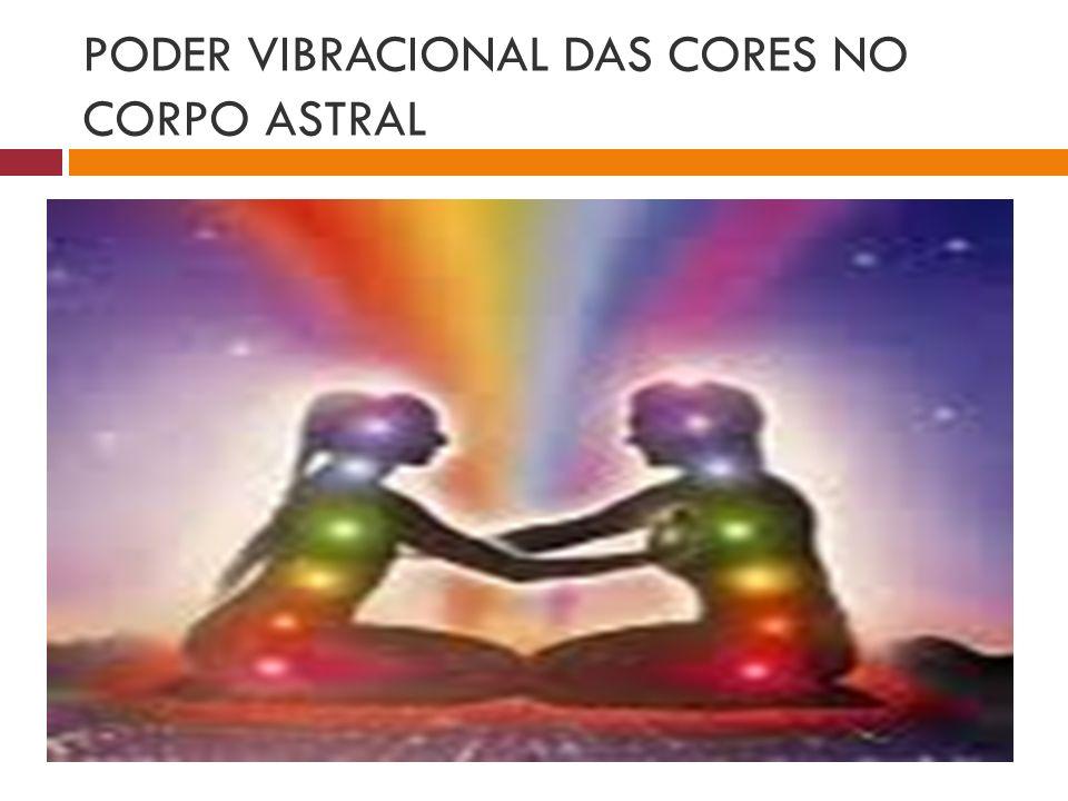 PODER VIBRACIONAL DAS CORES NO CORPO ASTRAL